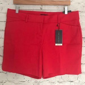 The Limited Tailored Shorts in red